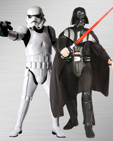 Darth Vader and Stormtrooper Costume Ideas