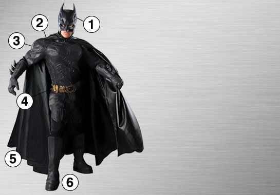 Batman Dark Knight Ultimate Costume