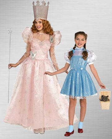 Glina and Dorothy Costume Ideas