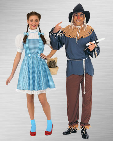 Dorothy and Scarecrow Costume Ideas