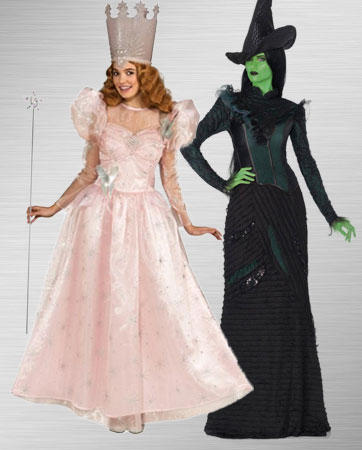 Glinda and Elphaba Costume Ideas