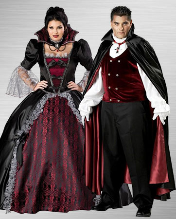 Female and Male Vampire Costume Ideas