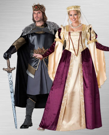 king and queen costume ideas