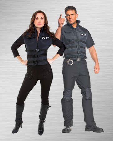 Male SWAT and Female SWAT Costume Ideas