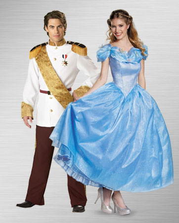 Prince Charming and Cinderella Costume Ideas