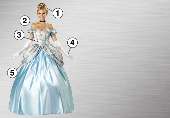 Enchanting Princess Ultimate Costume