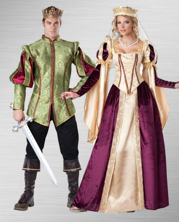 Renaissance Prince and Princess Costume Ideas