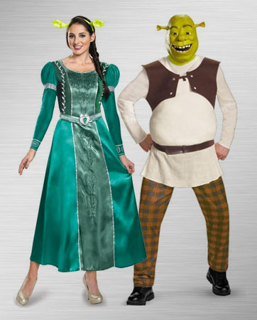 Fiona and Shrek Costume Ideas