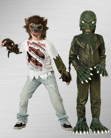 Swamp Monster and Werewolf Costume Ideas