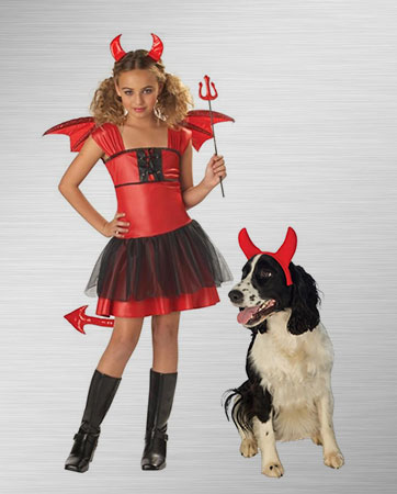 Darling Devil and Pet Devil Costume Ideas