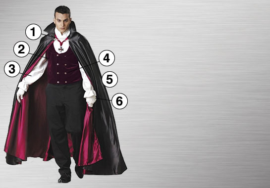 Gothic Vampire Ultimate Costume