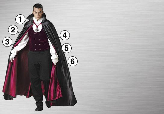 Gothic Vampire Ultimate Costume
