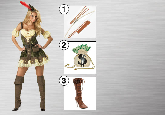 Racy Robin Hood Accessories