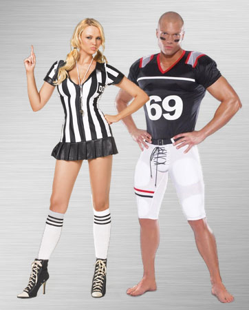 Referee and Tight End Costume Ideas