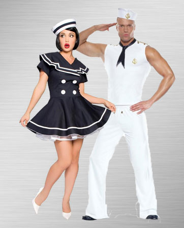Sailor and Pin Up Captain Costume Ideas
