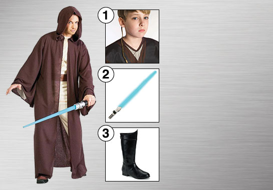 Jedi Robe Costume Accessories