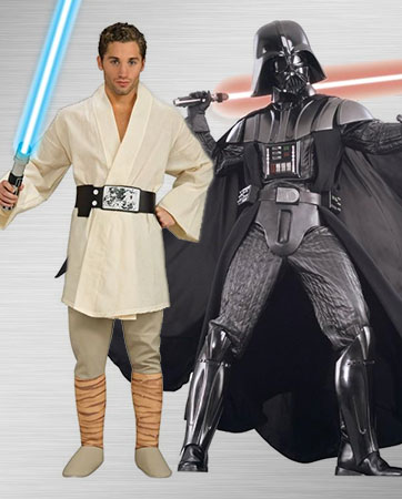 Luke Skywalker and Darth Vader Costume Ideas