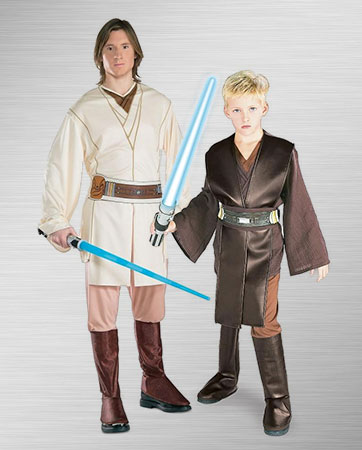 Obi-Wan  and Kid Anakin Costume Ideas