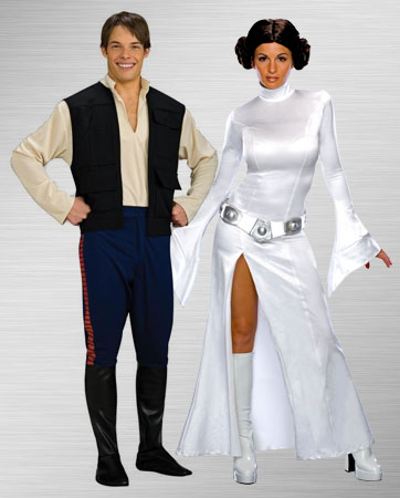 Princess Leia and Han Solo Costume Ideas