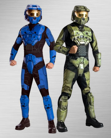 Blue Spartan and Master Chief Costume Ideas
