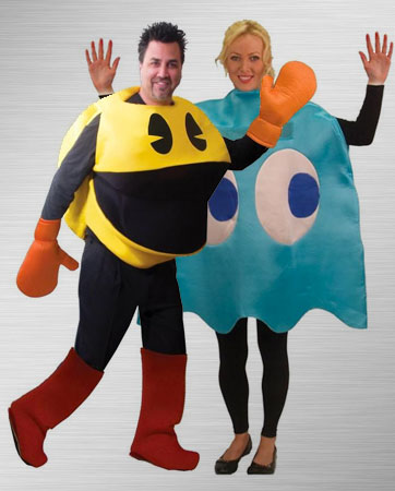 Pac-man and Inky Costume Ideas