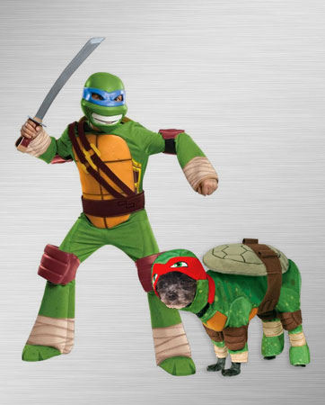 Leonardo and Raphael Costume Ideas