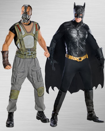 Bane and Batman Costume Ideas