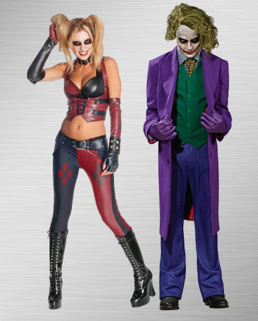 Harley Quinn and Joker Costume Ideas