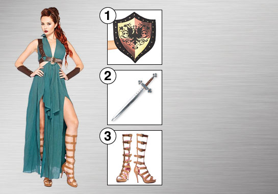 Medieval Warrior Costume Accessories