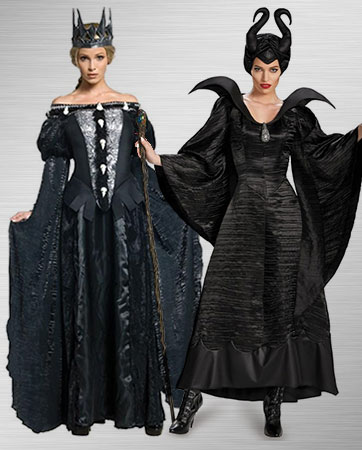 Queen Ravenna and Maleficent Costume Ideas