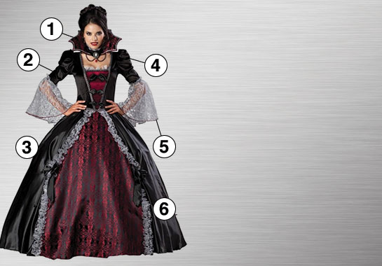 Vampiress Ultimate Costume