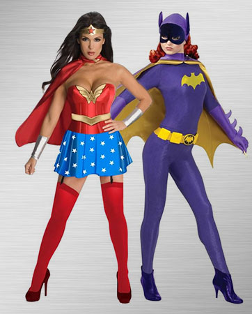 Batgirl and Wonder Woman Costume Ideas