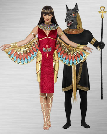 Anubis and Goddess Isis Costume Ideas