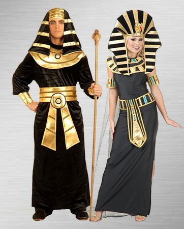 Pharaoh and Queen Nefertiti Costume Ideas
