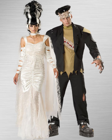 Frankenstein and Bride of Frankenstein Costume Ideas