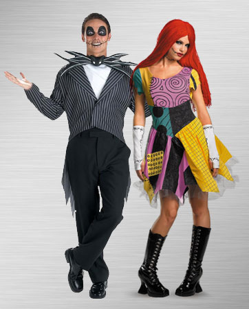 Jack Skellington and Sally Costume Ideas