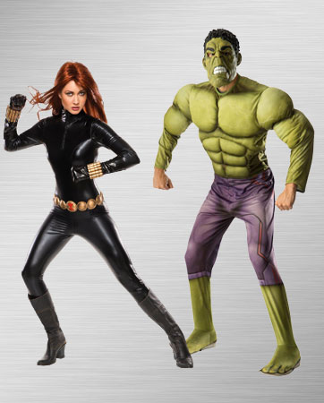 Black Widow and Hulk Costume Ideas