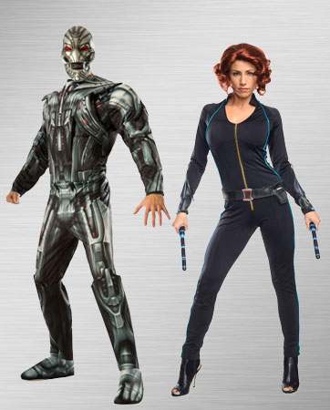 Black Widow and Ultron Costume Ideas