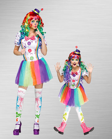 Crazy Color Clown Ideas