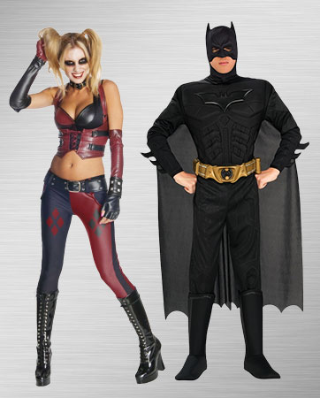 Harley Quinn and Batman Costume Ideas