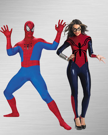 Spider-man and Spider-woman Costume Ideas