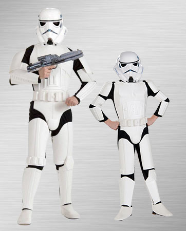 Adult and Child Stormtrooper Costume Ideas