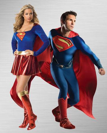 Superman and Supergirl Costume Ideas