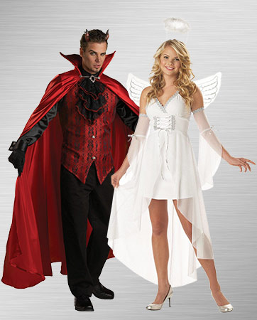 Devil and Heaven's Angel Costume Ideas