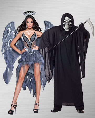 Dark Angel and Grim Reaper Costume Ideas