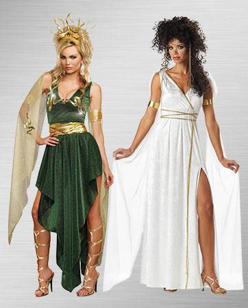 Athena and Medusa Costume Ideas