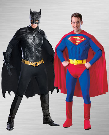 Superman and Batman Costume Ideas
