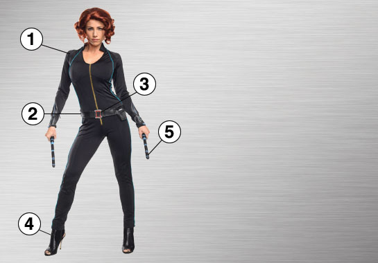Black Widow Costume Accessories