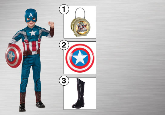 Captain America Costume Accessories
