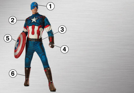 Captain America Ultimate Costume